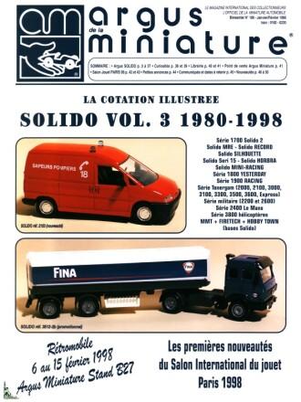 PROSPECTUS Nouveautées SOLIDO année 1996+1997!!!!!!!!